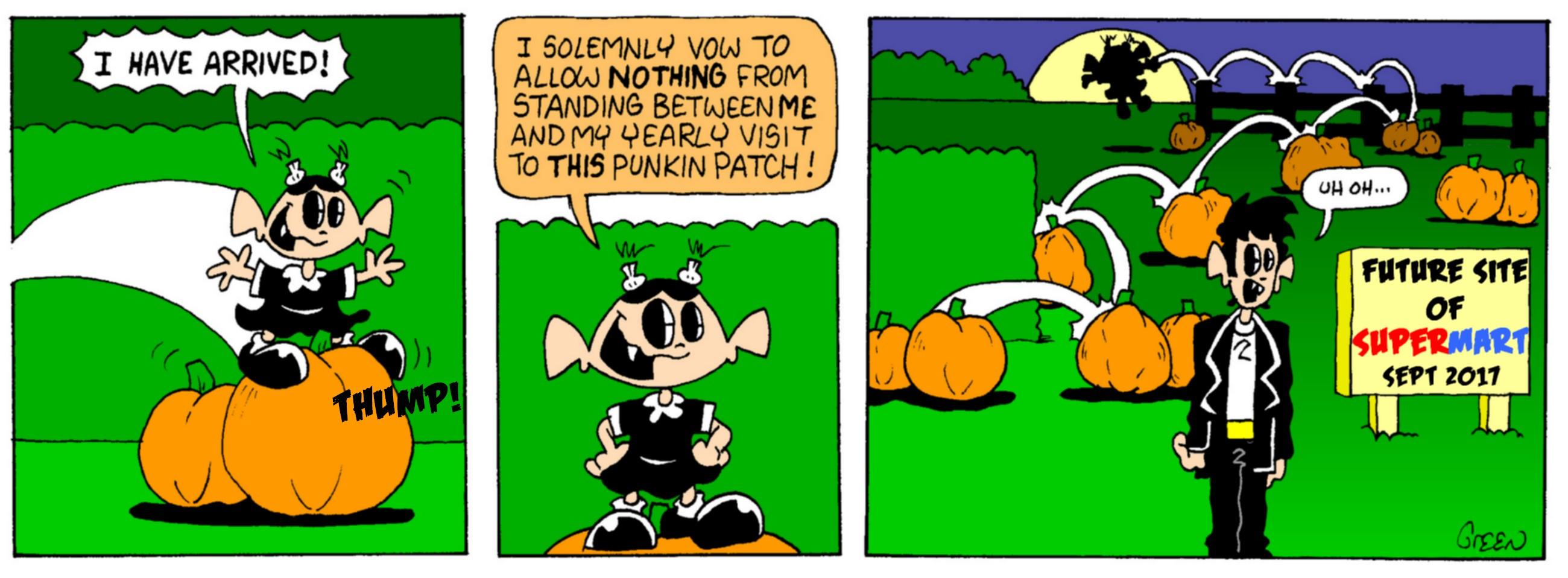 Pumpkin Patch Peril